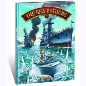 The Sea Raiders : Tome 1, Les fantômes de la mer Égée