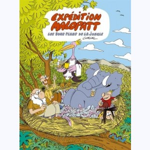Expédition Malopatt : Tome 2, Les bons plans de la jungle