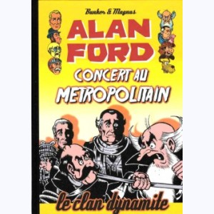 Alan Ford : Tome 5, Concert au Metropolitain