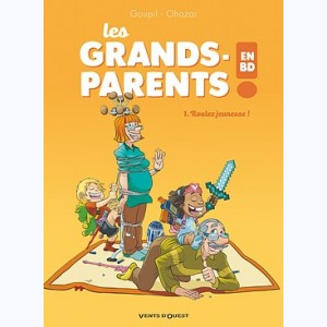 Les Grands-Parents en BD : Tome 1, Roulez jeunesse !
