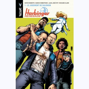 Harbinger Renegade : Tome 1, Le Jugement de Salomon