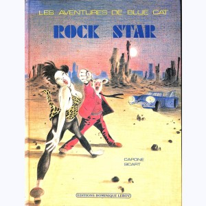 Les aventures de Blue Cat, Rock Star
