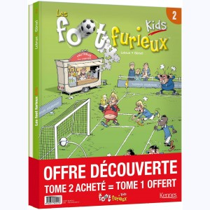 Foot Furieux Kids : Tome (1 & 2), Pack
