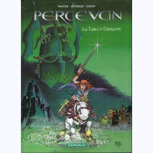 Percevan : Tome 8, La table d'émeraude