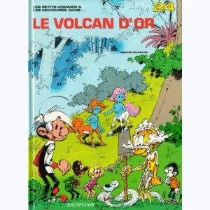 Les Petits Hommes : Tome 24, Le volcan d'or
