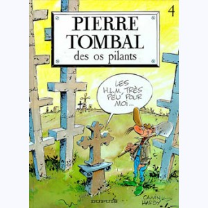 Pierre Tombal : Tome 4, Des os pilants
