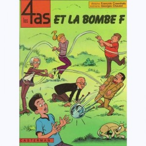 Les 4 as : Tome 13, Les 4 as et la bombe F