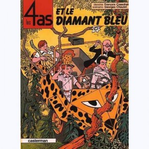 Les 4 as : Tome 17, Les 4 as et le diamant bleu