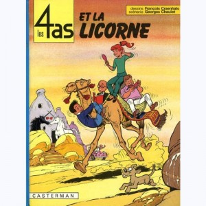 Les 4 as : Tome 18, Les 4 as et la licorne