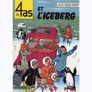Les 4 as : Tome 19, Les 4 as et l'iceberg