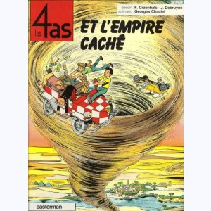 Les 4 as : Tome 28, Les 4 as et l'empire caché