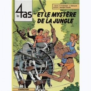 Les 4 as : Tome 29, Les 4 as et le mystère de la jungle