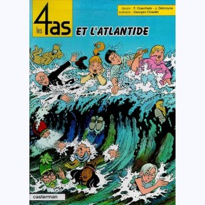 Les 4 as : Tome 33, Les 4 as et l'Atlantide