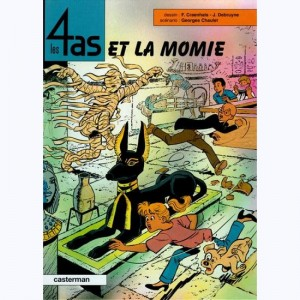 Les 4 as : Tome 36, Les 4 as et la momie
