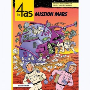 Les 4 as : Tome 42, Mission Mars