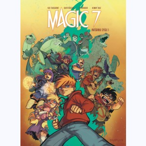 Magic 7 : Tome (1 à 4), Intégrale Cycle 1