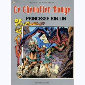 Le Chevalier Rouge : Tome 17, Princesse Kin-Lin