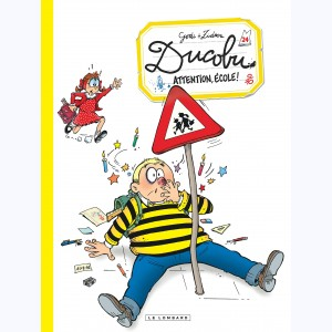 L'élève Ducobu : Tome 24, Attention, école !