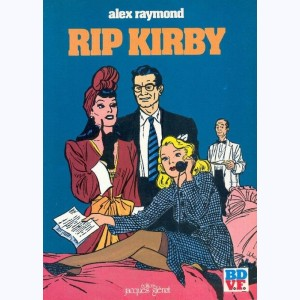 Rip Kirby : Tome 1, L'affaire Faraday - La Formule du Docteur Hicks