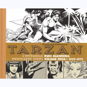 Tarzan (Manning), Newspaper Strips Volume deux : 1969-1971