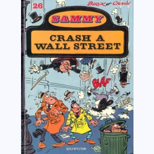 Sammy : Tome 26, Crash à wall street