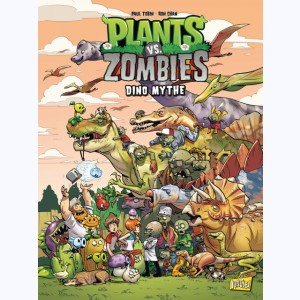 Plants vs. zombies : Tome 12, Dino-mythes