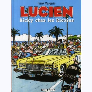Lucien : Tome 7, Ricky chez les Ricains