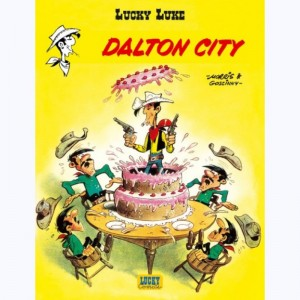 Lucky Luke : Tome 34, Dalton city