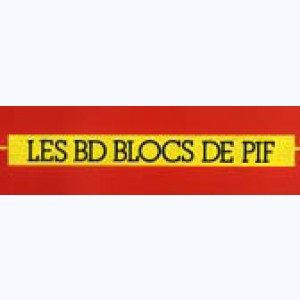 Collection : Les BD blocs de Pif