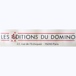 Editeur : Editions du Domino
