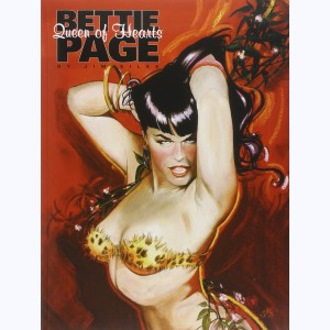 Bettie page queen of hearts