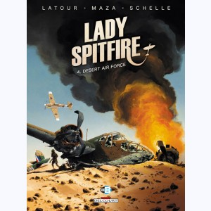Lady Spitfire : Tome 4, Desert air force